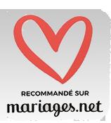 Entreprise recommande par Mariages.net